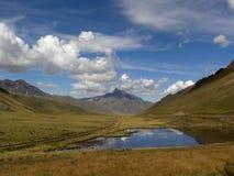 горы перуанские Стоковое Изображение