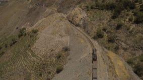 Горы Перу воздушные сток-видео