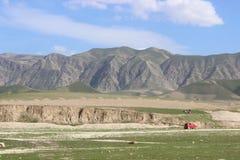 Горы песка стоковые изображения rf