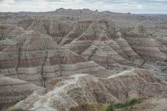 Горы пирамиды на национальном парке неплодородных почв Стоковые Изображения