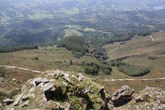 Горы Пиренеи Стоковое фото RF
