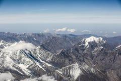 Горы покрытые снегом Стоковая Фотография RF