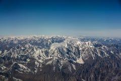 Горы покрытые снегом Стоковое фото RF