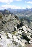 горы полируют tatra Стоковая Фотография
