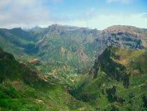 горы Португалия Мадейры Стоковые Изображения RF