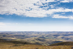 Горы положения Gerais мин - равенства соотечественника Serra da Canastra Стоковые Изображения