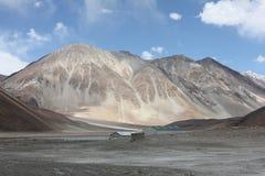 Горы положенной Индии Стоковые Фото