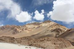 Горы положенной Индии Стоковая Фотография RF