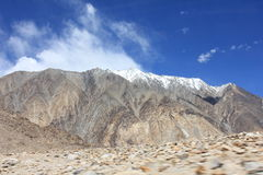 Горы положенной Индии Стоковое Изображение RF