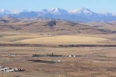 горы предгорья утесистые Стоковое Изображение RF