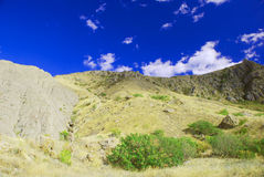 горы предпосылки Стоковое Изображение RF