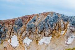 Горы, природа, вершина, туризм Стоковые Фото