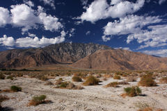 горы пустыни Стоковые Изображения RF