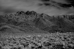 горы пустыни Стоковое фото RF