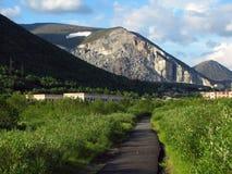 горы разрушения Стоковое Фото