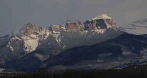 Горы Риджа Сан-Хуана Sawtooth Стоковые Изображения