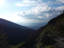 Горы Румынии Стоковая Фотография