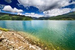 горы Румыния озера запруды bucegi bolboci Стоковые Фотографии RF