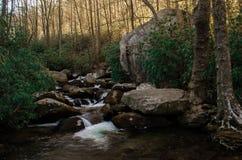 Горы севера и Южной Каролины Стоковое фото RF