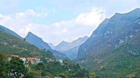 Горы северного Вьетнама Стоковое фото RF