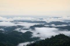 Горы северного Таиланда Стоковые Изображения