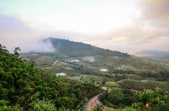 Горы северного Таиланда Стоковые Фотографии RF