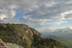 горы северные США Каролины Стоковое Фото