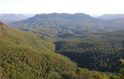 горы сини Австралии Стоковое Изображение
