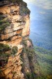 горы сини Австралии стоковые фотографии rf