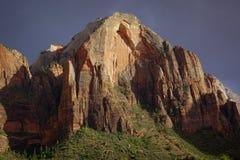 Горы Сион Юты национального парка стоковые фотографии rf
