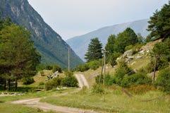 горы скита kakheti caucasus Georgia alaverdi Стоковая Фотография