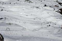 Горы снега стоковая фотография rf