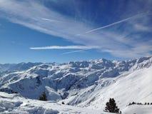Горы снега Стоковое Изображение RF