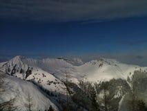 Горы снега Стоковые Фото