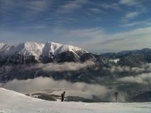 Горы снега Стоковое фото RF