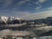 Горы снега Стоковые Фотографии RF