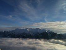 Горы снега Стоковые Изображения RF