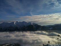 Горы снега Стоковые Изображения