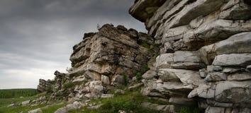 горы старые Стоковые Фотографии RF