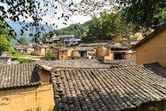 Горы старых деревень, имеют историю, Чжэцзян Китай Стоковые Фотографии RF