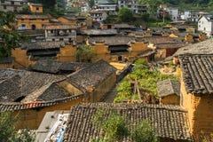 Горы старых деревень, имеют историю, Чжэцзян Китай Стоковые Изображения RF