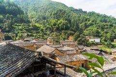 Горы старых деревень, имеют историю, Чжэцзян Китай Стоковые Фото