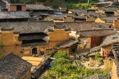 Горы старых деревень, имеют историю, Чжэцзян Китай Стоковое Изображение RF