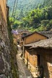 Горы старых деревень, имеют историю, Чжэцзян Китай Стоковые Изображения
