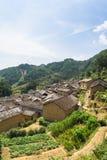 Горы старых деревень, имеют историю, Чжэцзян Китай Стоковая Фотография RF