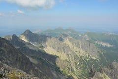 Горы Словакии Стоковые Фото
