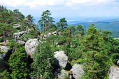 Горы таблицы Стоковая Фотография