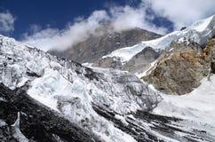 Горы Таджикистана (ледник) Стоковое Изображение RF