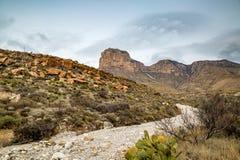 Горы Техас Guadalupe стоковые фотографии rf