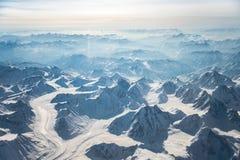 Горы Тибета Стоковые Изображения RF